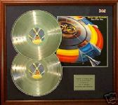 Electric Light Orchestra  - Double platinum disc & cover - OUT OF THE BLUE
